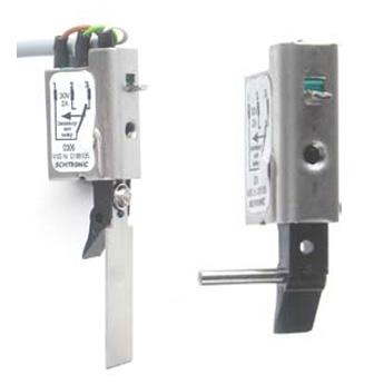 Riegelschaltkontakt / Schließblechkontakt / Verschlussmelder / Schließzustandsmelder mit Kabel